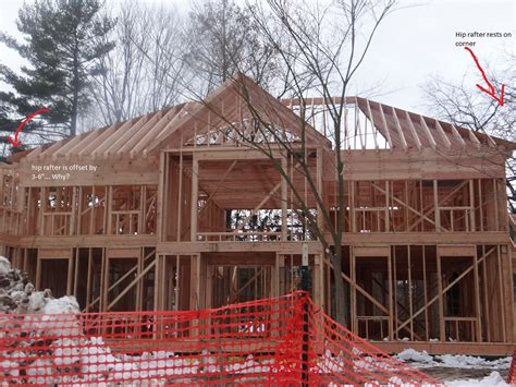 hip rafter offset framing contractor talk