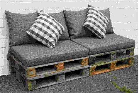 sofa schaumstoff brise vue bois pallet sofa