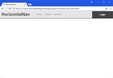membuat menu html css cara membuat responsive navigation menu dengan menggunakan