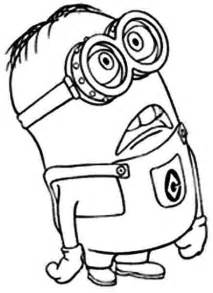 17 images coloring pages minions