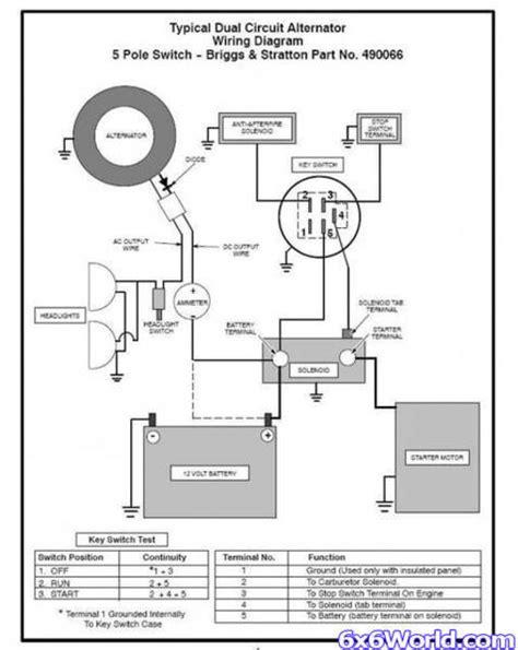 indak 5 pole ignition switch wiring diagram indak free