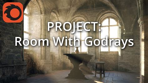complete project creating room  god rays