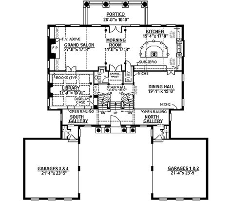 cost effective luxury house plan 12174jl 2nd floor