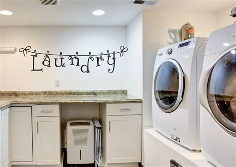 Decorating Laundry Room Walls by Laundry Wall Decals Laundry Room Decor Laundry Vinyl