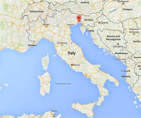 where is on the map where is grado on map italy