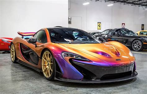mclaren p1 crash test up with the cerberus pearl mclaren p1