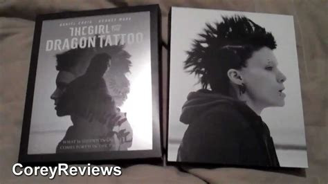 girl with dragon tattoo qartulad the girl with the dragon tattoo blu ray dvd unboxing