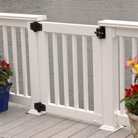 Home Depot Front Porch Railing by Vinyl Gate For Titan Finyl Line Endurance Railing By