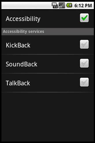 what is talkback on android talkback para android