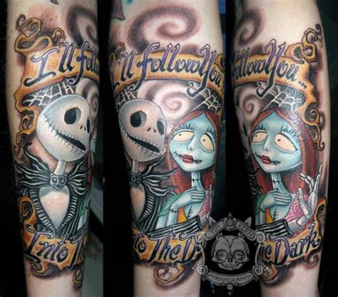 arm fantasie tim burton tattoo von tim kerr