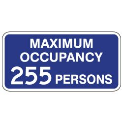 Maximum Occupancy Sign Related Keywords Maximum Occupancy Sign Long Tail Keywords Keywordsking Occupancy Sign Template
