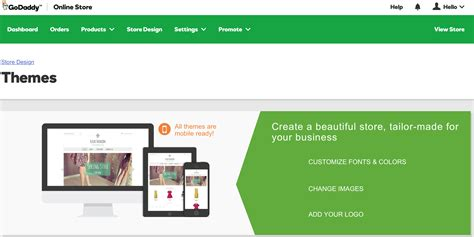 online store themes godaddy godaddy online store review set up your own e commerce