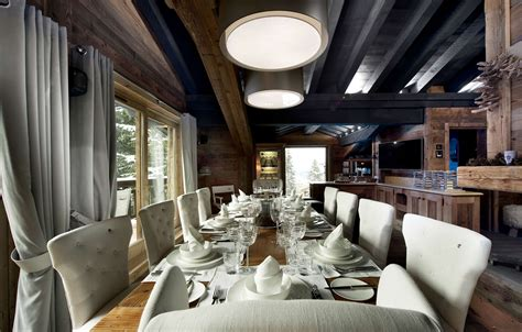 baumstamm le awesome design luxury ski chalet interiors that