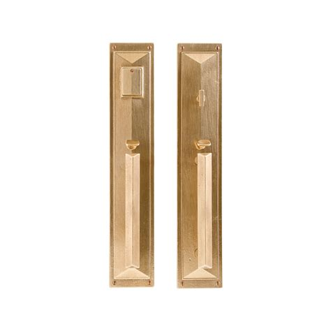 Mack Entry Set 3 3 4 Quot X 20 Quot Entry Thumblatch Mortise Exterior Door Hardware Sets