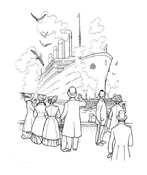 titanic coloring pages games coloring page titanic coloring pages 18