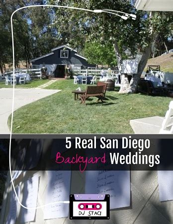 san diego backyard 5 real san diego backyard weddings san diego dj photo booth