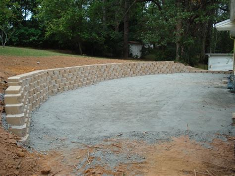 Patio Stone Slabs Retaining Walls A2 Carved N Stone