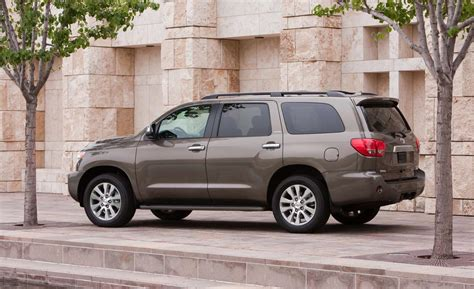 2014 Toyota Sequoia Limited Car And Driver