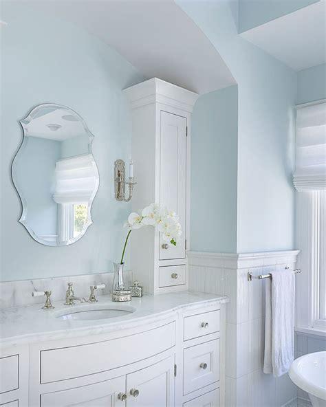 light blue bathroom walls superb torchiere in bathroom farmhouse with blue bathroom