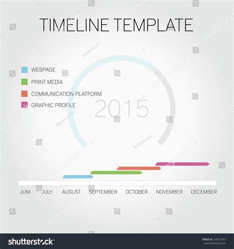 editable timeline template free editable timeline template stock vector illustration