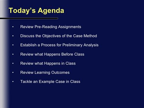 Ul Mba Program Review by An Introduction To The Method Lecture Notes Sav