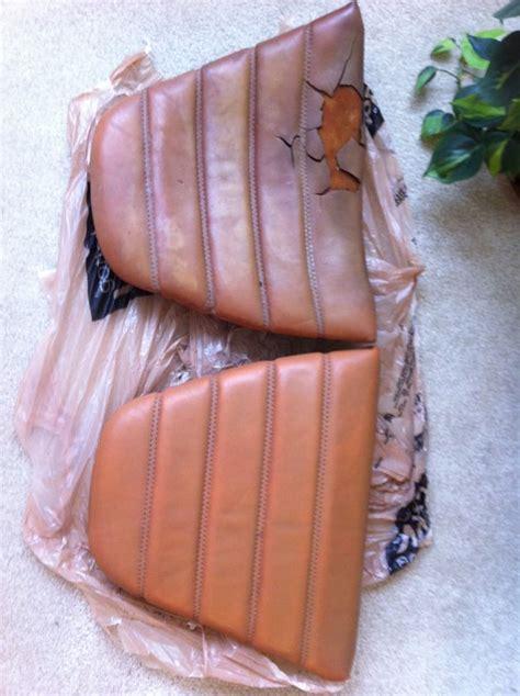 vinyl car seats vs leather 911 sc rear seats leather vs vinyl pelican parts