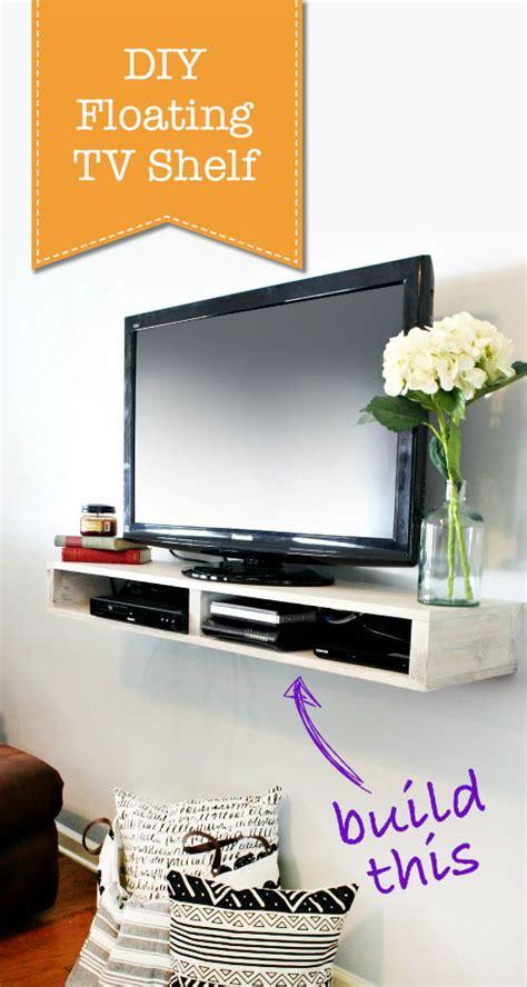 floating shelves tv how to build a floating tv shelf pretty handy