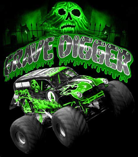 grave digger monster truck wallpaper grave digger neon by myseps on deviantart