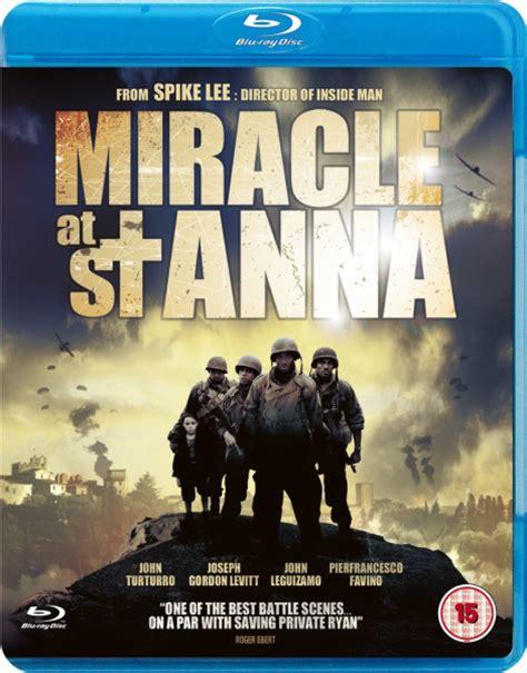 Miracle St Anna 2008 Film Miracle At St Anna Blu Ray Zavvi Com