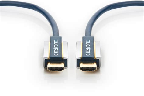 Kabel Data Fleco High Speed 0 5m clicktronic advanced high speed cable hdmi con