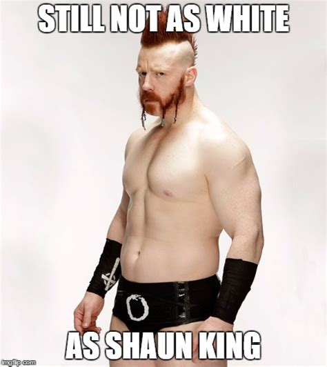 Shaun White Meme - image tagged in wwe sheamus funny sjw shaun king imgflip