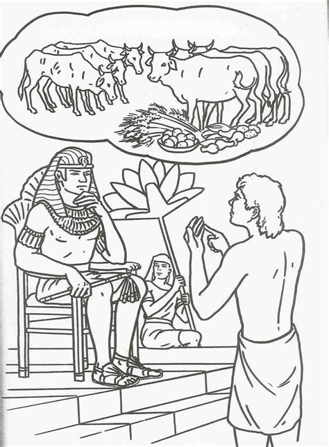 coloring pictures of joseph from the bible lots of coloring book pages for the story of joseph