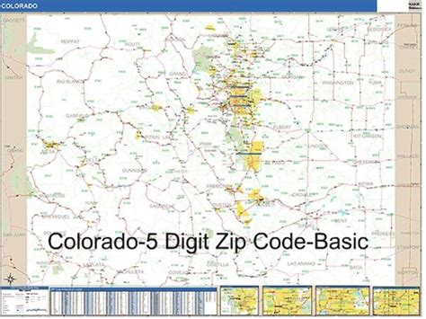 zip code map of colorado springs zip code map colorado zip code map