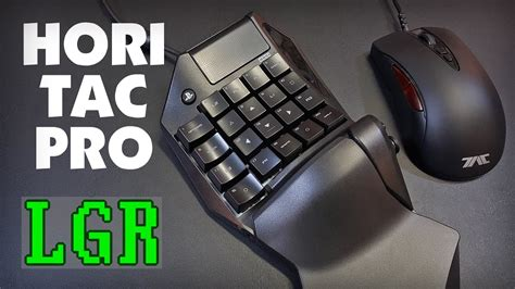 lgr hori tac pro ps keyboard mouse review youtube