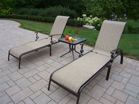 Aluminum Sling Patio Furniture by Outdoor Patio Dining Chairs Sling Aluminum Chair Pads