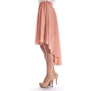 womens chiffon wrap style asymmetrical high low