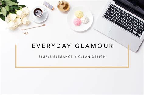 design header blog elegant hero blogger header images product mockups on