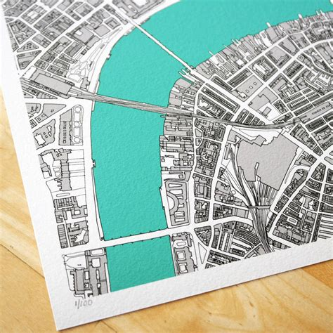 map print limited edition by bronagh