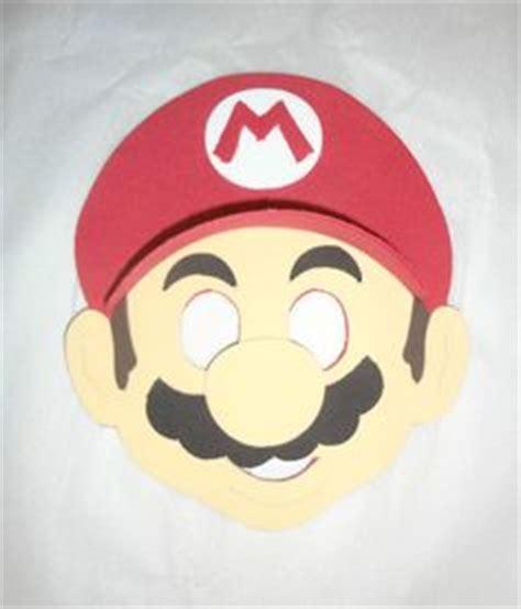 printable luigi mask mario bros party on pinterest super mario party super