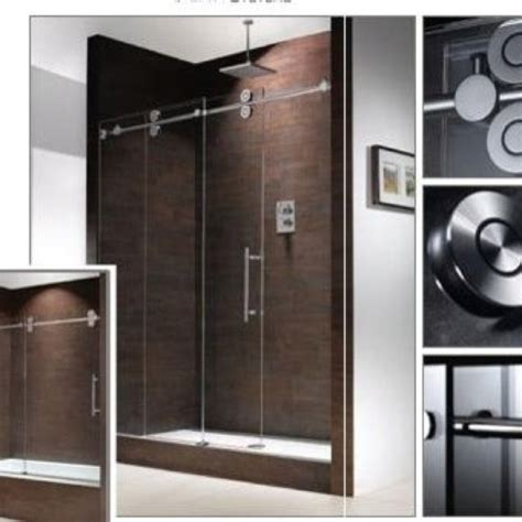 sliding glass barn shower door design inspiration