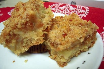 apple bars with oatmeal crumb topping apple oat bars with pretzel crumb topping tasty kitchen