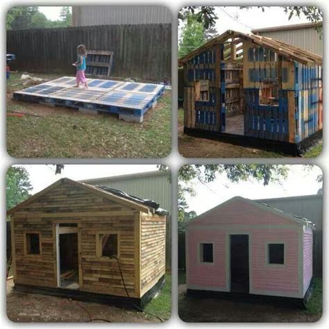 Cabin Out Of Pallets by Cabin Out Of Pallets Papa Projects