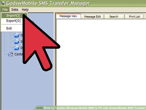 sms to mobile how to transfer windows mobile sms to pc with godswmobile