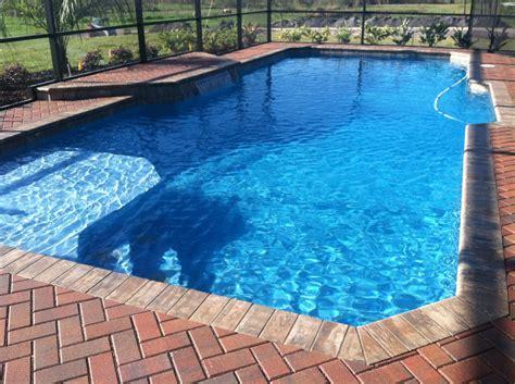 Backyard Pool Ideas Lakeland Fl Pool Blue Inc Backyard Inground Swimming Pools
