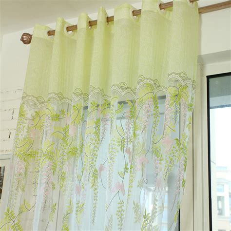 pale green curtains green sheer curtains home design ideas and pictures