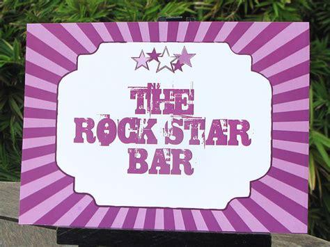 free printable rockstar party decorations rockstar birthday party invitations printable decorations