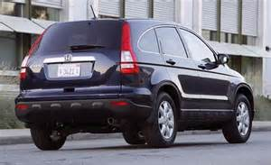 2007 Honda Cr V Car And Driver
