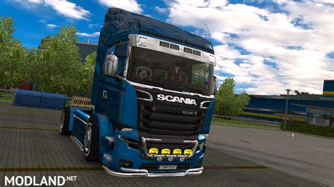 euro truck simulator 2 demo full version scania illegal v8 new for v1 25 by zarnevis mod for ets 2