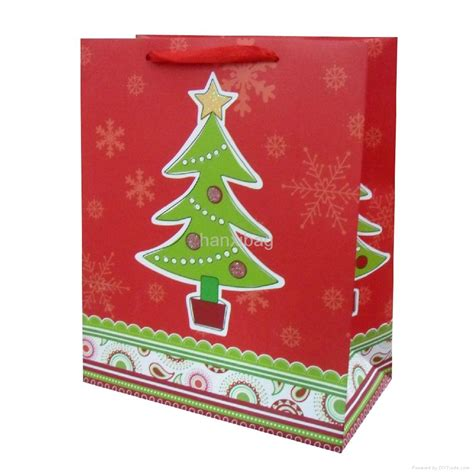 christmas gift paper bags hanxi china manufacturer