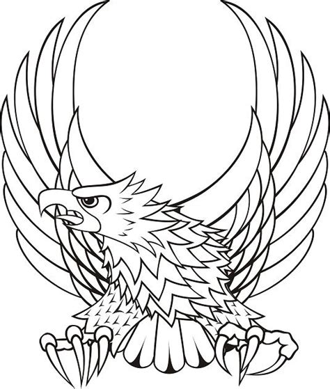 eagle tattoo line art polish eagle tattoo designs clipart best
